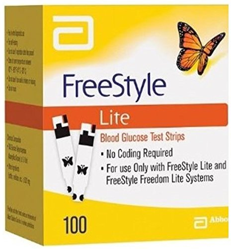 100 freestyle lite test strips