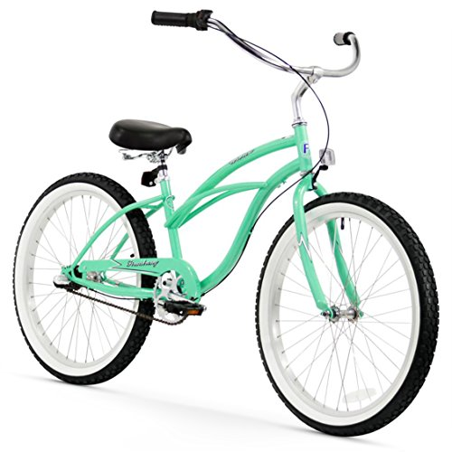 Firmstrong Urban Lady Three Speed Beach Cruiser Bicycle, 24-Inch, Mint ()