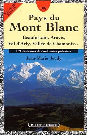 En ligne Pays du Mont-Blanc pdf ebook
