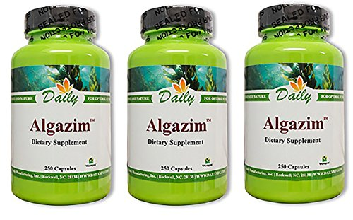 Daily Manufacturing - Algazim |250 Capsules, 3 Pack ()