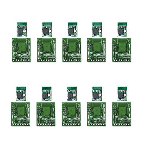 ELSRA 10pcs CC2640R2F BLE 4.2 & 5.0 Bluetooth Low Energy Module BT03-1 w/ DIP adapter PCB by ELSRA