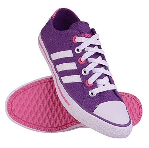 adidas Zapatillas Vlneo 3 Stripes Lo K Morado EU 28 (UK 10.5K) pE4LmW