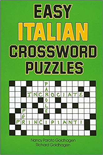 Amazon Com Easy Italian Crossword Puzzles Language Italian English And Italian Edition 9780844280530 Goldhagen Nancy Books