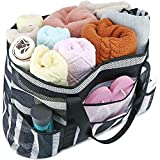 BLUBOON Mesh Beach Bag Toy Tote Bag for Family Pool Oversized 22' Grocery Shopping Bag with Waterproof Cell Phone Pocket and Sandproof Bottom