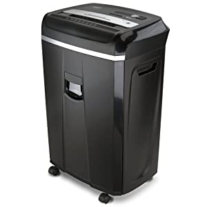 Aurora Anti-Jam 20-Sheet Crosscut CD/Paper and Credit Card Shredder, 7-Gallon pullout Basket, 60 Minutes Continuous Run Time