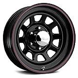 jeep black rims - Pacer 342B BLACK DAYTONA Black Wheel (17x8