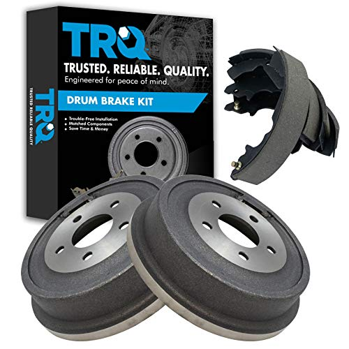 Brake Drum & Shoe Rear Kit Set for Equinox Aztek Torrent Vue/Hybrid