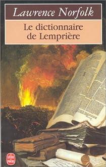 Le dictionnaire de Lemprière par Norfolk