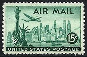 Amazon Com United States U S Scott C 35 C35 15 Cent Statue Of Liberty Air Mail From
