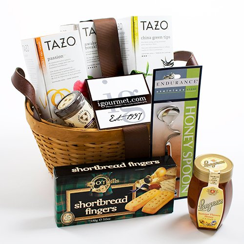 Basket of Tea and Honey (4 pound)