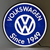 Neonetics Vw Volkswagen Since 1949 Backlit LED Lighted Sign, 15""