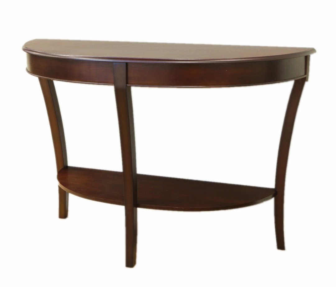 Gentil Amazon.com: Frenchi Home Furnishing Half Round Sofa Table: Kitchen U0026 Dining