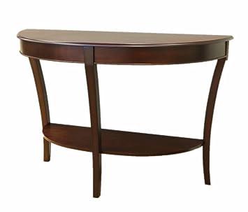 Amazoncom Frenchi Home Furnishing Half Round Sofa Table Kitchen