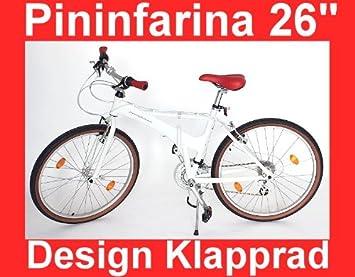 Pieghevole Pininfarina 26.Designer Pininfarina City Bicycle 26 Inch Folding Bike
