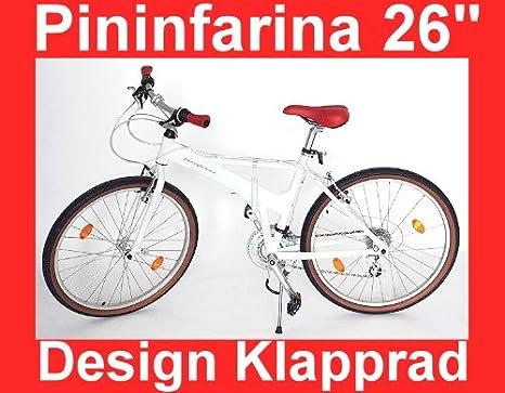 Bici Pieghevole Pininfarina.Designer Pininfarina City Bicycle 26 Inch Folding Bike