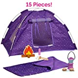Adora Amazing World 'Camping Wooden Play Set' - 15 Piece Accessory Set For 18' Dolls [Amazon Exclusive]