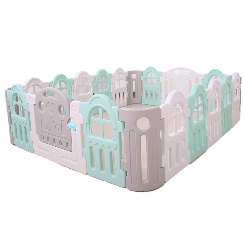 LJF Puzzle Spiel Haus, Indoor Crawl Lernen Zu Gehen Sicherheitszaun Baby Umweltschutz Schutzzaun Isolation Zaun 30-80 cm Tragbarer Speicher