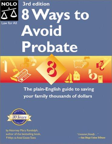 Read Online 8 Ways to Avoid Probate ebook