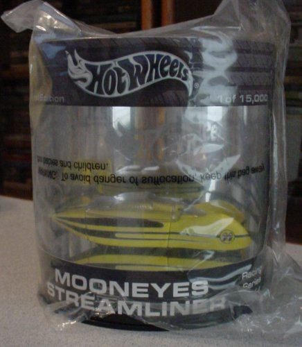 Hot Wheels Mooneyes Streamliner Racing Series Ltd Ed Oil Can