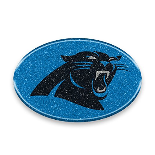 Carolina Panther Colors (NFL Carolina Panthers Color Bling Emblem, 4