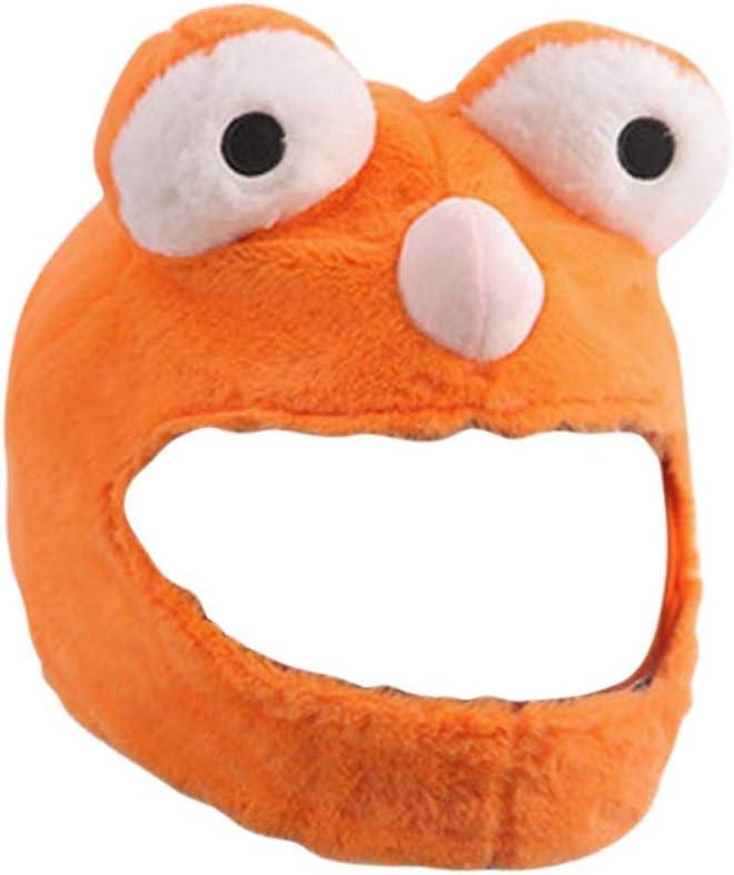 lustige Fahrten und Geschenke - Orange und Rot Nur /Überzug. Helm Nicht inbegriffen f/ür Spa/ß im Freien Personalisiertes Motorradfahren Helm/überzug f/ür Motorradhelm