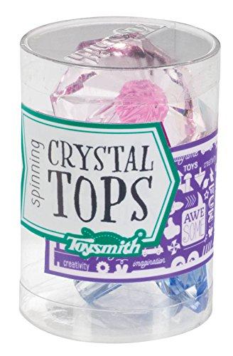Toysmith Spinning Crystal Top Toy by Toysmith