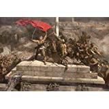 high quality polyster Canvas ,the Reproductions Art Decorative Prints on Canvas of oil painting 'Chen Yifei,The Occupation of the Presidential Palace,1976', 18x26 inch / 46x67 cm is best for Kitchen artwork and Home decor and Gifts