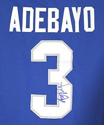 Bam Adebayo Kentucky Wildcats Autographed Blue #3 Jersey
