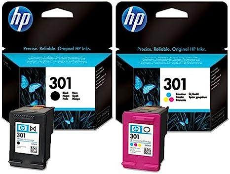2 HP Deskjet 2050 A cartuchos de tinta para impresora – negro + ...