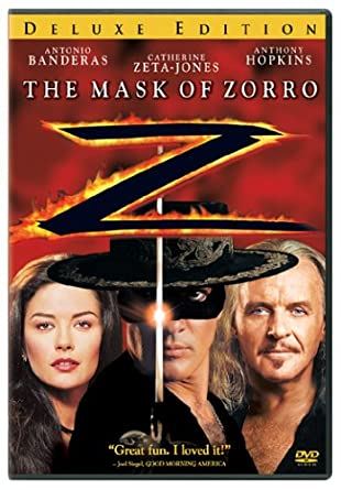 The Mask of Zorro 1998 BRRip 720p 1GB Dual Audio ( Hindi – English ) DD 5.1 MKV