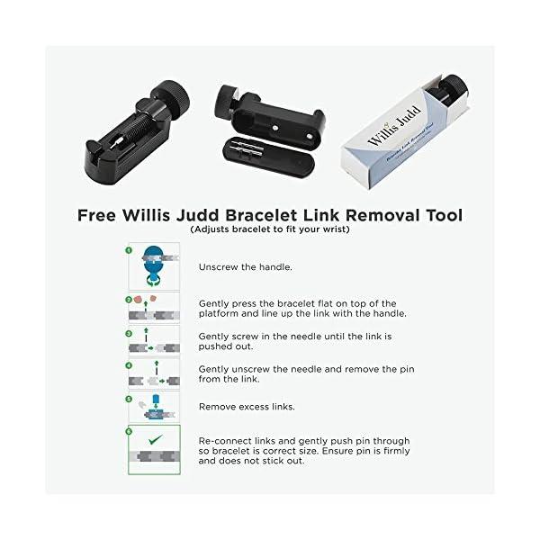 DAD-Black-Titanium-Bracelet-Engraved-Best-Dad-Ever-Adjusting-Tool-Gift-Box-Included-by-Willis-Judd
