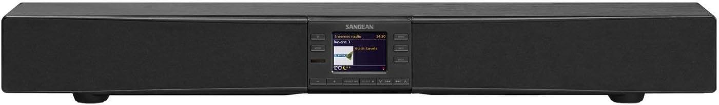 Sangean Sb 100 Soundbar Stereoanlage Mit Radio Bluetooth Wlan Und Nfc Schwarz Heimkino Tv Video