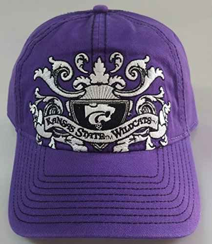 NCAA New Kansas State Wildcats Embroidered Adjustable Buckle Back Cap by NCAA