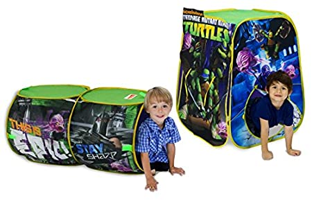 Amazon.com Playhut Teenage Mutant Ninja Turtles Adventure Hut Tent Toys u0026 Games  sc 1 st  Amazon.com & Amazon.com: Playhut Teenage Mutant Ninja Turtles Adventure Hut ...