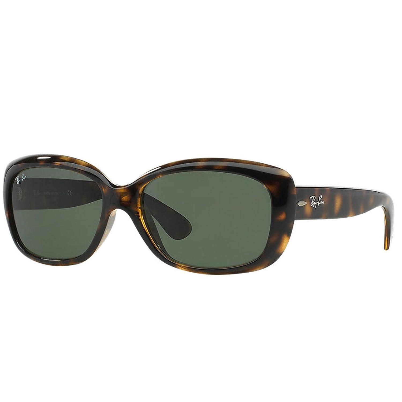 RAY BAN RAY-BAN Damen Sonnenbrille »JACKIE OHH RB4101«, braun, 860/51 - braun/braun