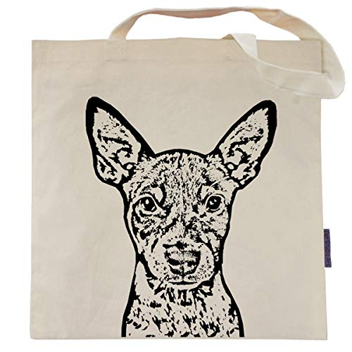 Beast the Rat Terrier Tote Bag by Pet Studio Art