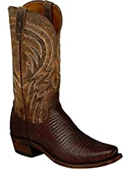 Lucchese Mens Handmade Percy Lizard Boot Square Toe - M2904.74