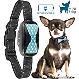 GoodBoy Humane Bark Collar for Small Dogs - Vibrating Anti Barking Device with New 2019 Design and Microchip Upgrade for Better Bark Detection - Rechargeable & Weatherproof (3+ kg)