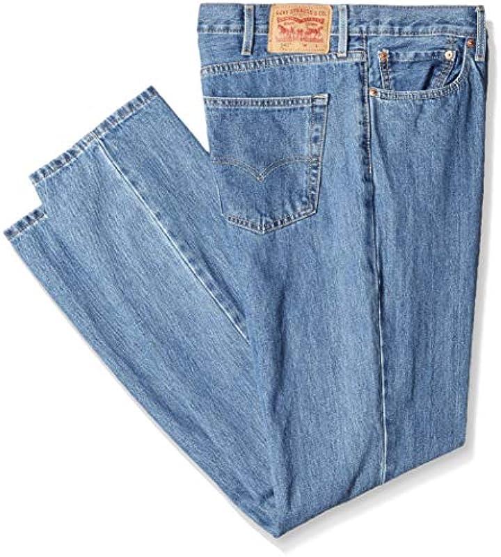 Levi's Męskie dżinsy Big & Tall 541 Athletic Fit: Odzież