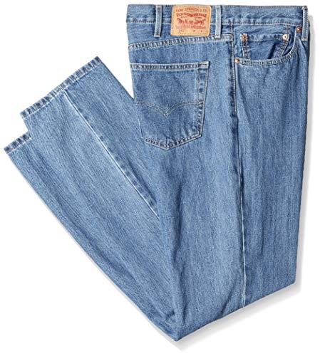 Levi's Men's 541 Big & Tall Athletic Straight Fit Jean, Medium Stonewash-Stretch, 42W x 34L