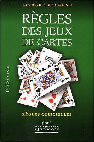 Livres Règles des jeux de cartes : Règles officielles pdf, epub ebook