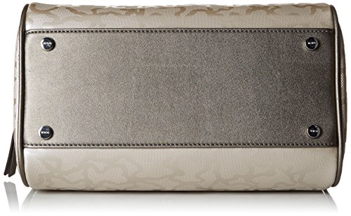 Tous Kaos Shiny - Borse Bowling Donna, Argento (Plata), 12x25x29 cm (W x H L)