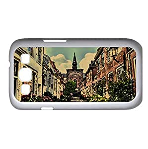 Street In Holland Watercolor style Cover Samsung Galaxy S3 I9300 Case (Netherlands Watercolor style Cover Samsung Galaxy S3 I9300 Case)