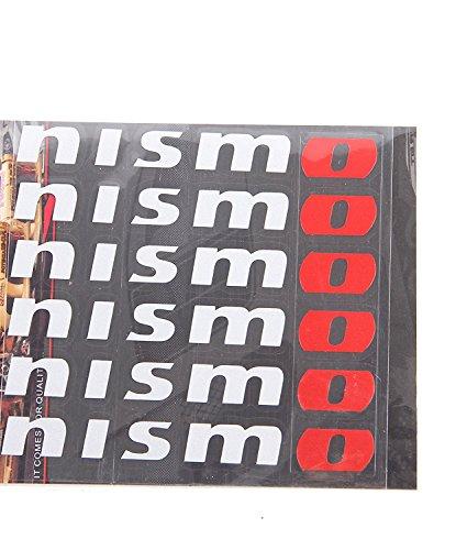 - for Nismo wheel decals stickers die cut vinyl 6pcs set nissan GTR Skyline V35 R33 R34 Z32 Z33