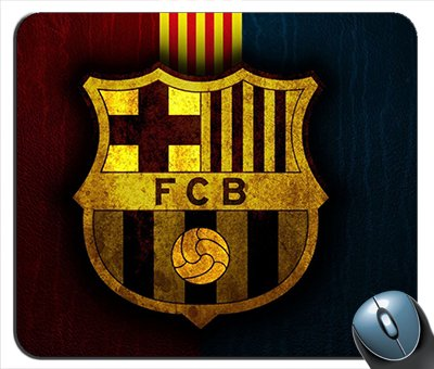 Club Barcelona Football - Barcelona Football Club Mouse Pad