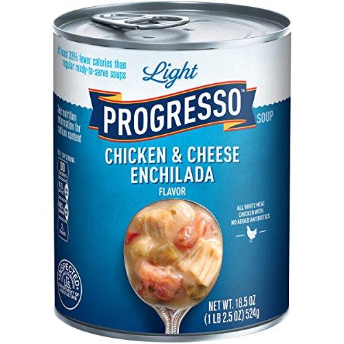 Light Progresso - Progresso Light Soup, Chicken & Cheese Enchilada, 18.5 Ounce