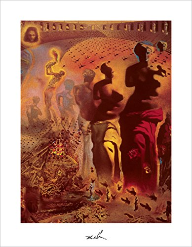 (Hallucinogenic Toreador by Salvador Dali - Art Print / Poster 11x14 inches)