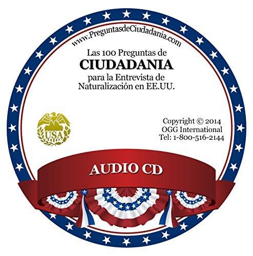 Las 100 Preguntas de Ciudadania Americana CD + Folleto