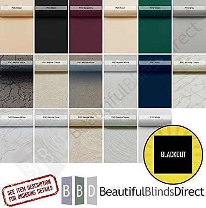 Amazon Com Beautiful Blinds Pvc Blackout Vertical Blind
