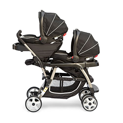 Graco Ready2grow Click Connect Double Stroller, Gotham (Discontinued by Manufacturer)
